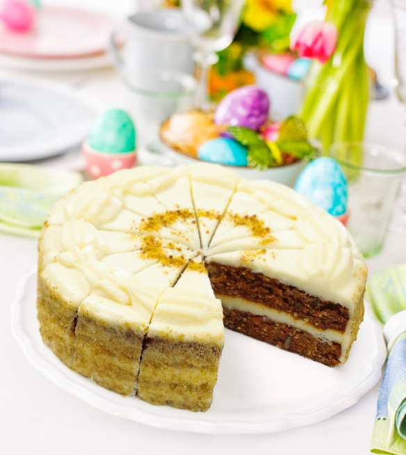 Recipe: Perfect Easter Carrot Cake