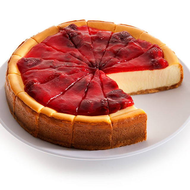 New-York-Strawberry-Topped-Cheesecake-9-Inch
