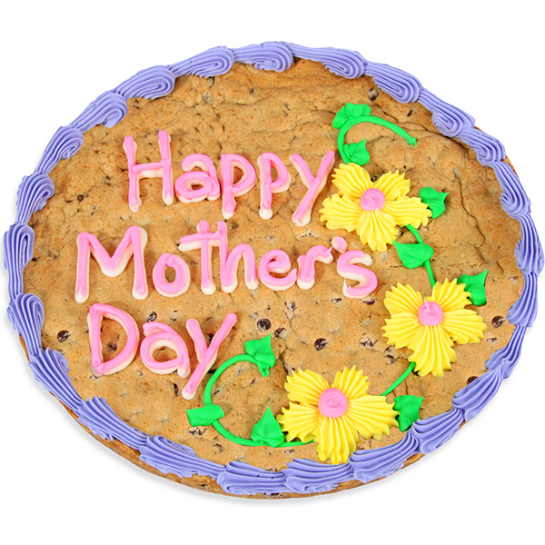Bake a Chocolate Chip Cookie Cake for Mother's Day!