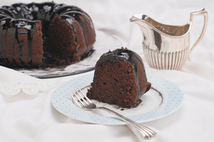 How to Make Healthier Chocolate Cake
