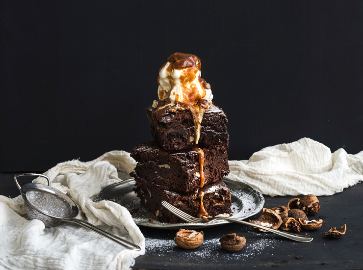 Low Calorie Rocky Road Brownies Recipe