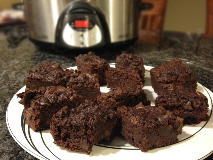 Crockpot Recipe: Triple Chocolate Brownies
