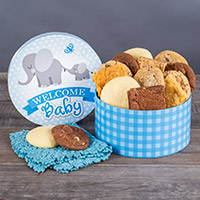 Welcome Baby Boy Brownie Gift Box 8984CC