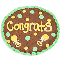 Congrats Baby Brownie Cake 8867CC
