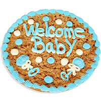 Welcome Baby Boy Cookie Cake 8669CC