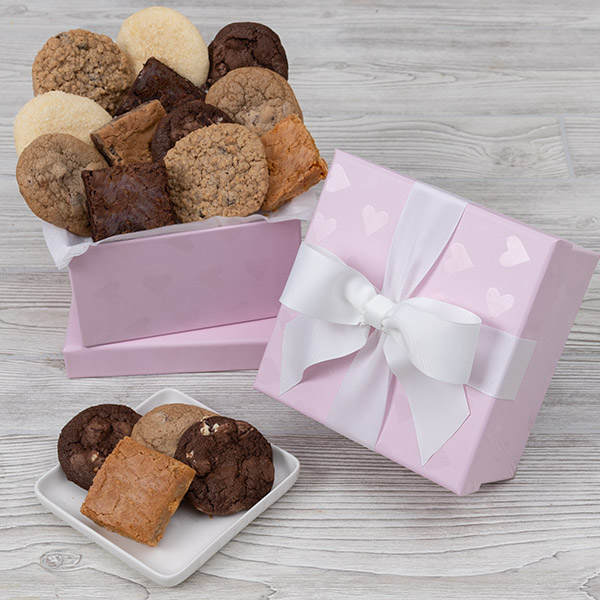 With Love Brownie Gift Box