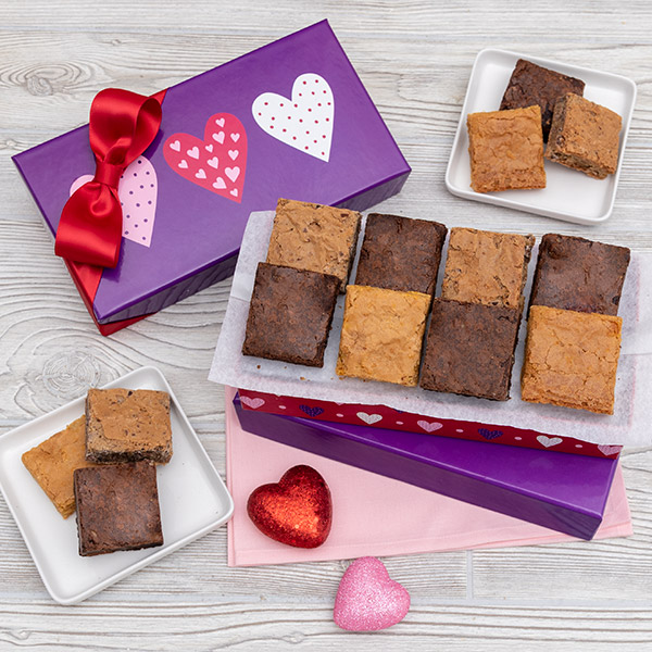 Valentine S Day Brownie Gift Box By Cheesecake Com