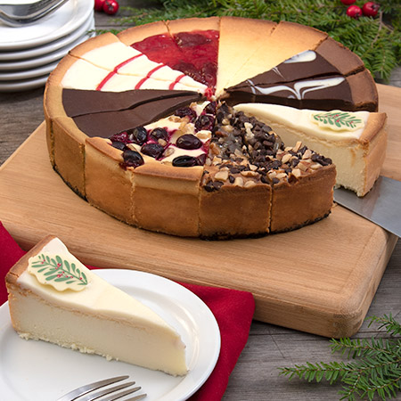 Holiday Cheesecake Sampler 8045CC