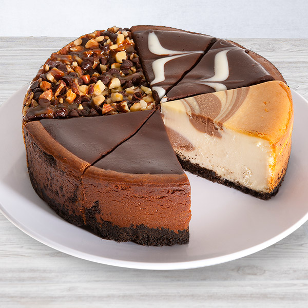 Chocolate Lovers Cheesecake Sampler - 6 Inch