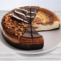 Chocolate Lovers Cheesecake Sampler