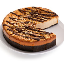 Kahlua Almond Cheesecake