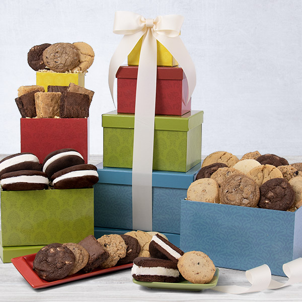 From The Bakery Gift Tower by Cheesecake.com
