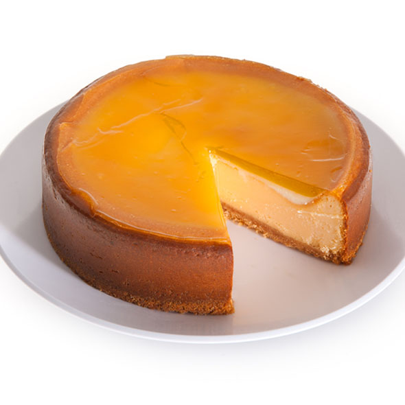 Blood Orange Cheesecake - 6 Inch by Cheesecake.com