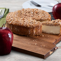Caramel Apple Crunch Cheesecake - 6 Inch (8118CC)
