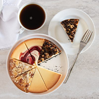 Gourmet Cheesecake Sampler - 6 Inch