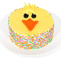 "Easter Chick Specialty 6"" Cake (8550CC)"