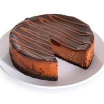 Chocolate Cabernet Truffle Cheesecake - 6 Inch (8120CC)