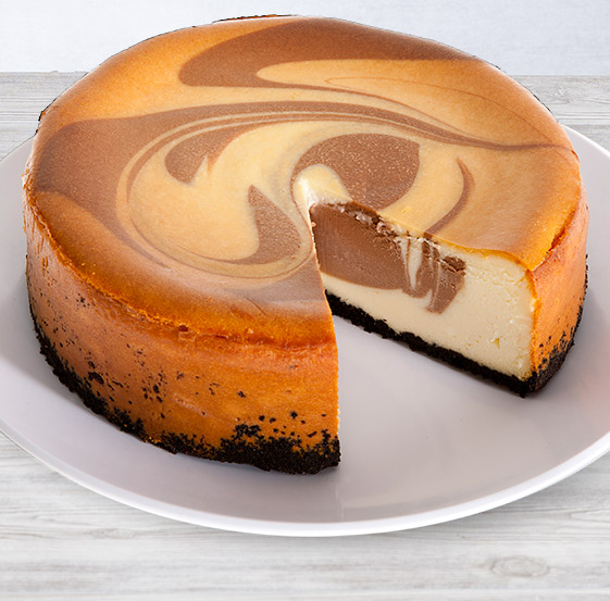 Orange Chocolate Swirl Cheesecake Recipe — Dishmaps