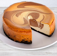 Chocolate Swirl Cheesecake - 6 Inch (8122CC)