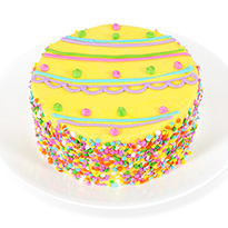 "Easter Egg Specialty 6"" Cake (8551CC)"
