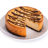 Kahlua Almond Cheesecake - 6 Inch