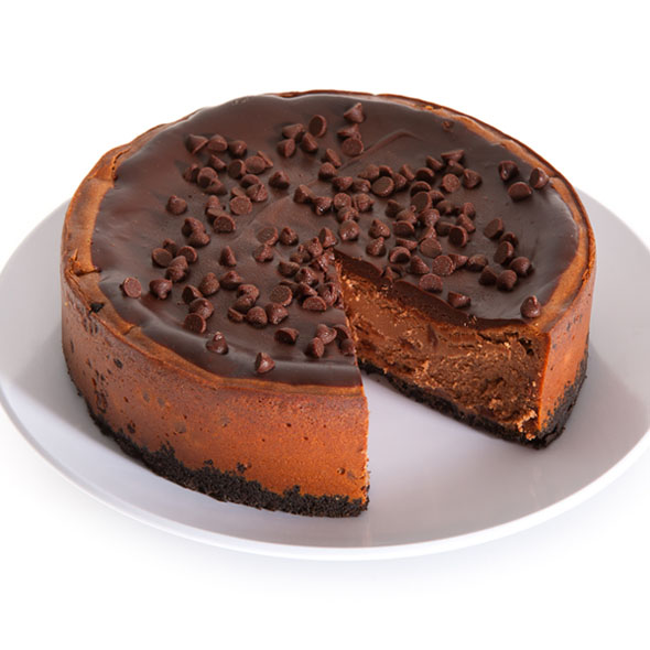Mint Chocolate Chip Cheesecake - 6 Inch by Cheesecake.com