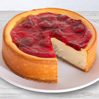 NY Strawberry Topped Cheesecake - 6 Inch (8132CC)