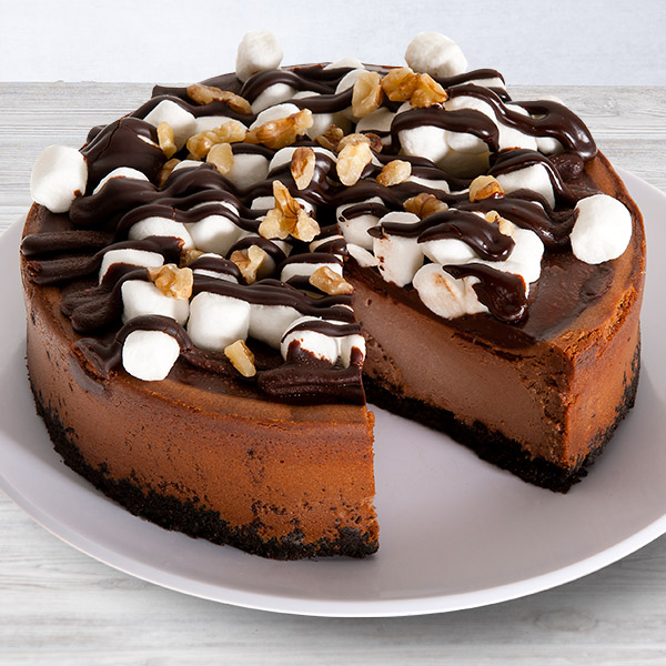 Rocky Road Cheesecake - 6 Inch