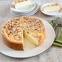 Amaretto Cheesecake - 9 Inch