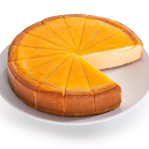 Blood Orange Cheesecake - 9 Inch by Cheesecake.com