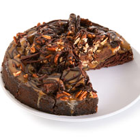 Chocolate Pecan Cluster Cake - 9 Inch (8507CC)