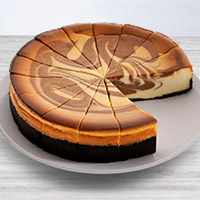 Chocolate Swirl Cheesecake - 9 Inch
