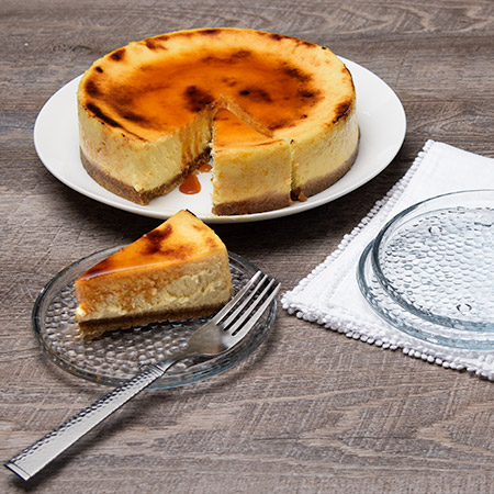 Crème Brulee Cheesecake - 9 Inch by Cheesecake.com