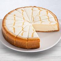 Dulce De Leche Cheesecake - 9 Inch (8025CC)