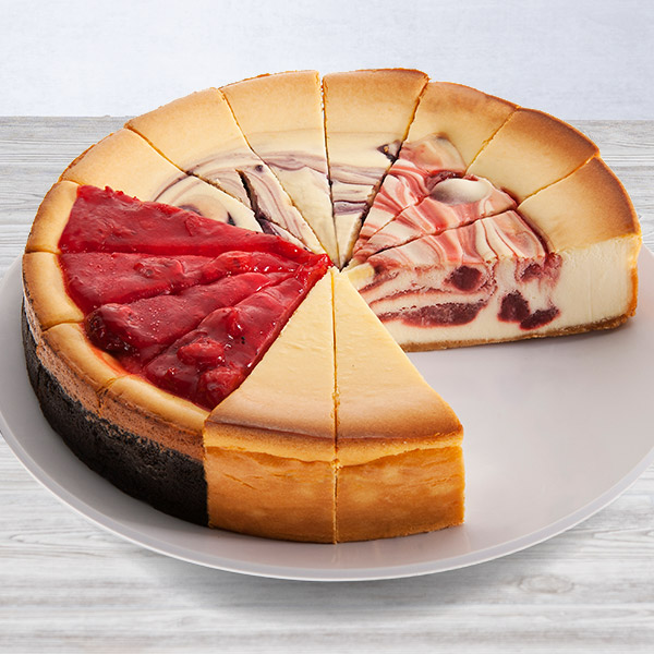 Fruit Cheesecake Sampler - 9 Inch