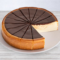 New York Chocolate Fudge Cheesecake - 9 Inch