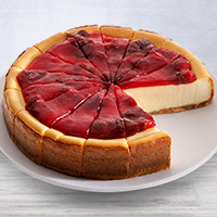 NY Strawberry Topped Cheesecake - 9 Inch (8032CC)