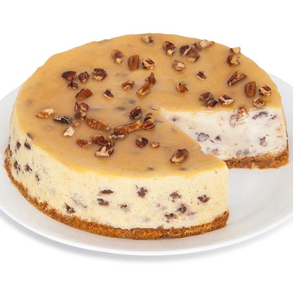 Praline Cheesecake - 9 Inch by Cheesecake.com