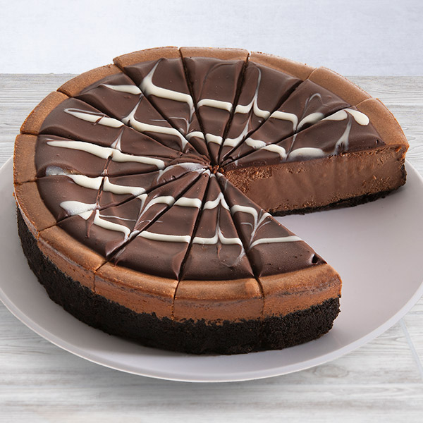 Triple Chocolate Cheesecake - 9 Inch by Cheesecake.com