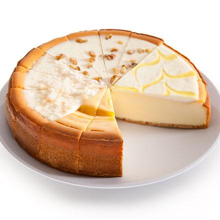 Tropical Cheesecake Sampler - 9 Inch by Cheesecake.com