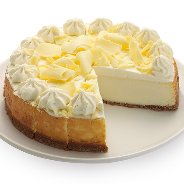 White Chocolate Cheesecake - 9 Inch by Cheesecake.com