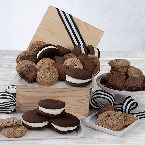 Baked goods premium gift basket by cheesecake negle Choice Image