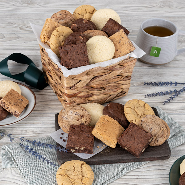Baked Goods Sampler Gift Basket By Cheesecake