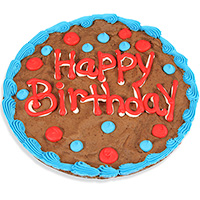 Happy Birthday Brownie Cake