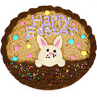 Easter Bunny Basket Cookie Cake