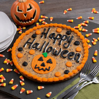 Happy Halloween Cookie Cake