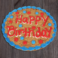 Happy Birthday Cookie Cake (8661CC)