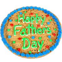 Father's Day Cookie Cake
