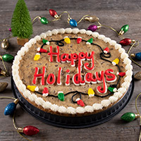 Happy Holidays Cookie Cake (8680CC)