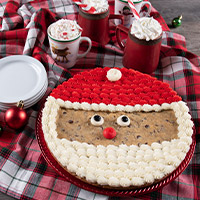 Santa Cookie Cake (8681CC)